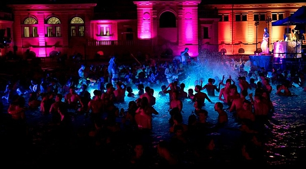 Bath Party in Budapest