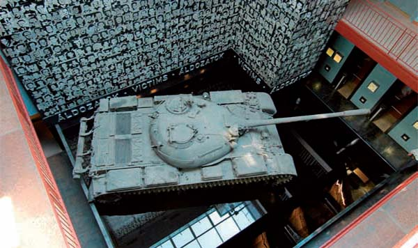 The House of Terror Museum, tank